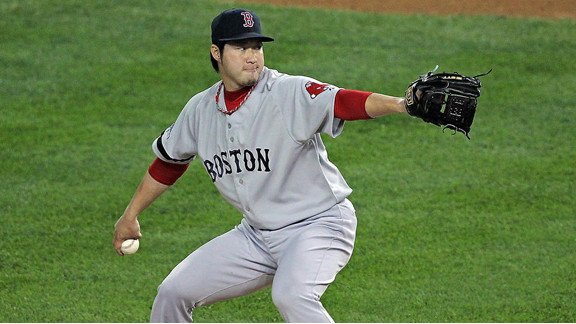 Player Profile: RHP, Junichi Tazawa (Boston Red Sox)