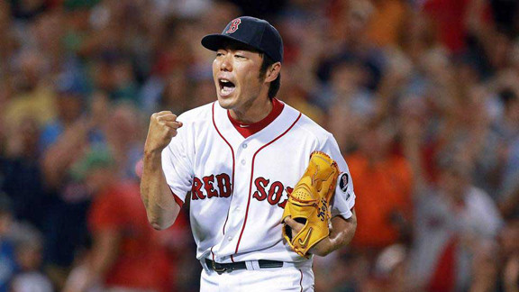 Player Profile: RHP, Koji Uehara (Boston Red Sox)