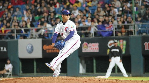 In The News: Yao-Lin Wang Pitches In Exhibition Game, Wei-Chung Wang's Inning Vs. White Sox