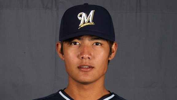 In The News: Wei-Chung Wang Emerging As Top-Class Rookie For Brewers