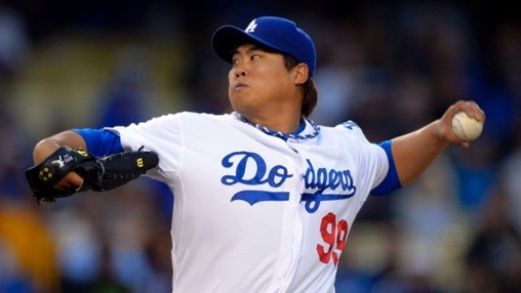 In The News: Ryu Shaky In First Loss, Choo Goes 0 -3