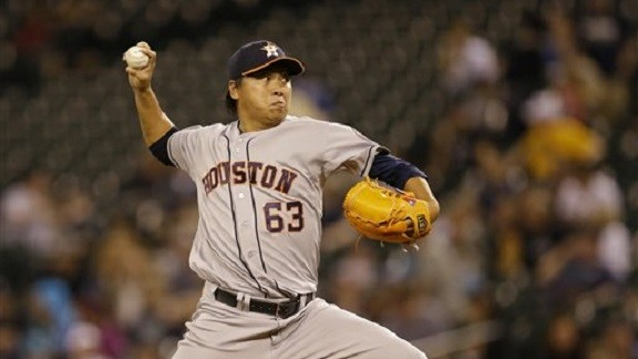 Chia-Jen Lo released by the Astros
